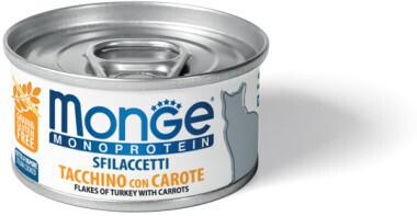 Monge Cat Monoprotein конс д/кошек индейка с морковью 80 г
