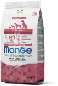 Monge Dog Speciality д/собак говядина 2,5 кг