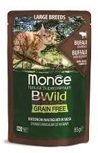 Monge Cat BWild GF пауч д/кошек буйвол 85 г