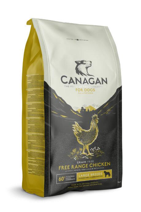 Canagan GF Free Range Chicken д/собак крупных цыпленок 2 кг