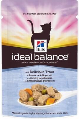 Hill's IB Feline пауч д/кошек Форель овощи 85 г