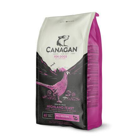 Canagan GF Highland Feast д/собак утка фазан 2 кг