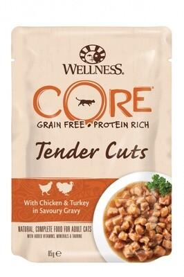 Core Tender Cuts пауч д/кошек индейка утка 85 г