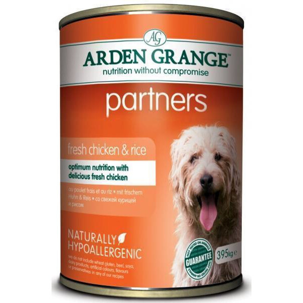 AG Dog конс д/собак Курица рис 395 г