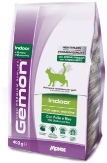 Gemon Cat Indoor д/кошек домашних 400 г
