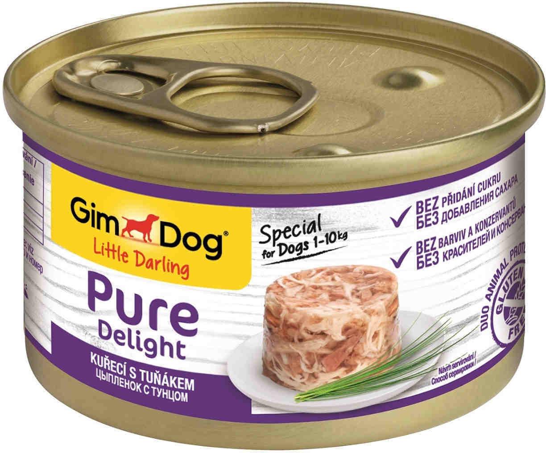GimDog Pure конс д/собак цыпленок тунец 85 г