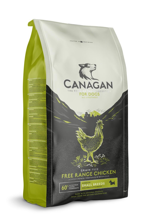 Canagan GF Free Range Chicken д/собак мелких цыпленок 500 г