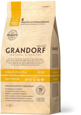Grandorf Cat Probiotic Sterilized д/стерил кошек 400 г