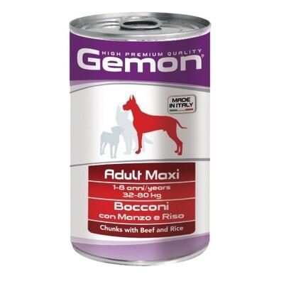 Gemon Dog конс д/собак крупных говядина 1250 г