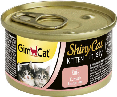 GimCat ShinyCat конс д/котят из цыпленка 70 г