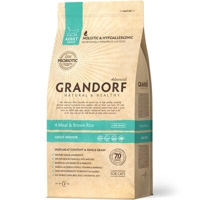 Grandorf Cat Probiotic Indoor д/кошек домашних 2 кг