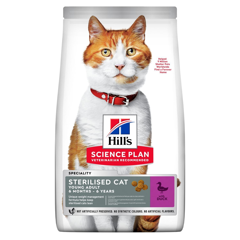 Hill's SP Feline SterilCat д/кошек стерил 6 мес - 6 лет Утка 300 г