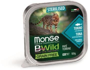 Monge Cat BWild GF конс д/кошек тунец 100 г