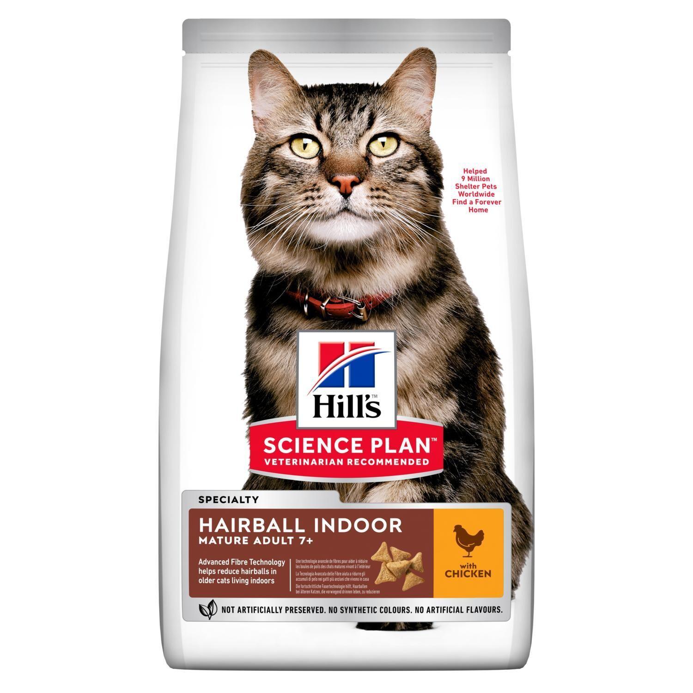 Hill's SP Feline Hairball д/кошек вывод шерсти 1,5 кг