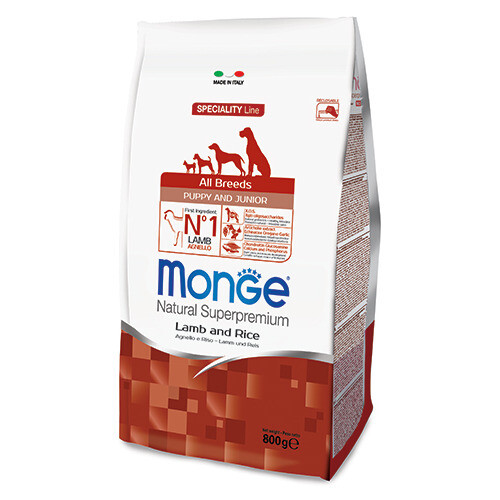 Monge Dog Speciality Puppy Junior д/щенков ягненок 800 г
