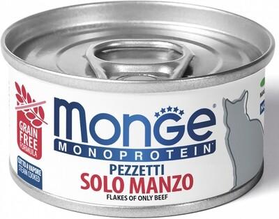 Monge Cat Monoprotein конс д/кошек говядина 80 г