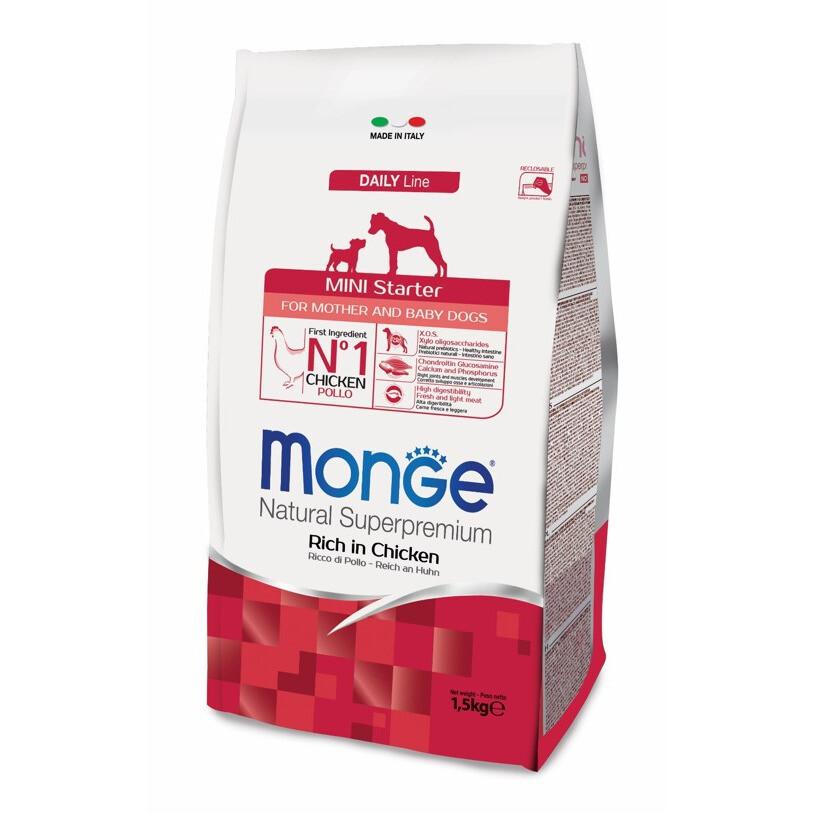 Monge Dog Mini Starter д/щенков мелких пород 1,5 кг