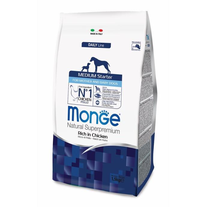 Monge Dog Medium Starter д/щенков средних пород 1,5 кг