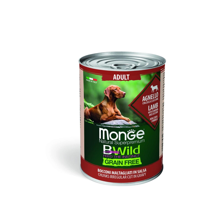 Monge Dog BWild GF конс д/собак ягненок 400 г