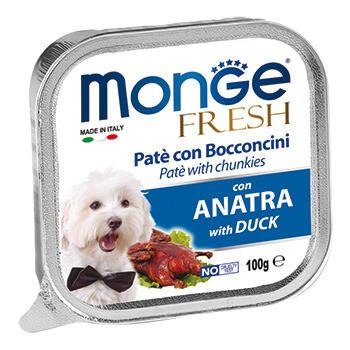 Monge Dog Fresh конс д/собак Утка 100 г
