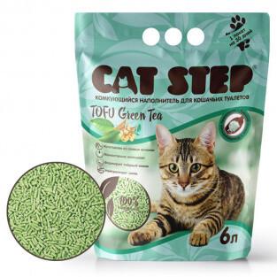 Наполнитель Cat Step Tofu Green Tea комкующийся 6 л