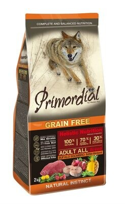 Primordial корм д/собак буйвол/скумбрия 2 кг