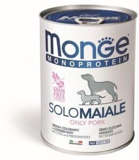 Monge Dog Monoprotein Solo конс д/собак Свинина паштет 400 г
