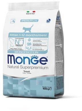 Monge Cat Speciality Kitten д/котят форель 400 г