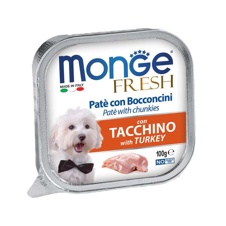 Monge Dog Fresh конс д/собак Индейка 100 г