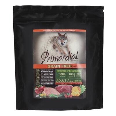 Primordial корм д/собак оленина/индейка 400 г