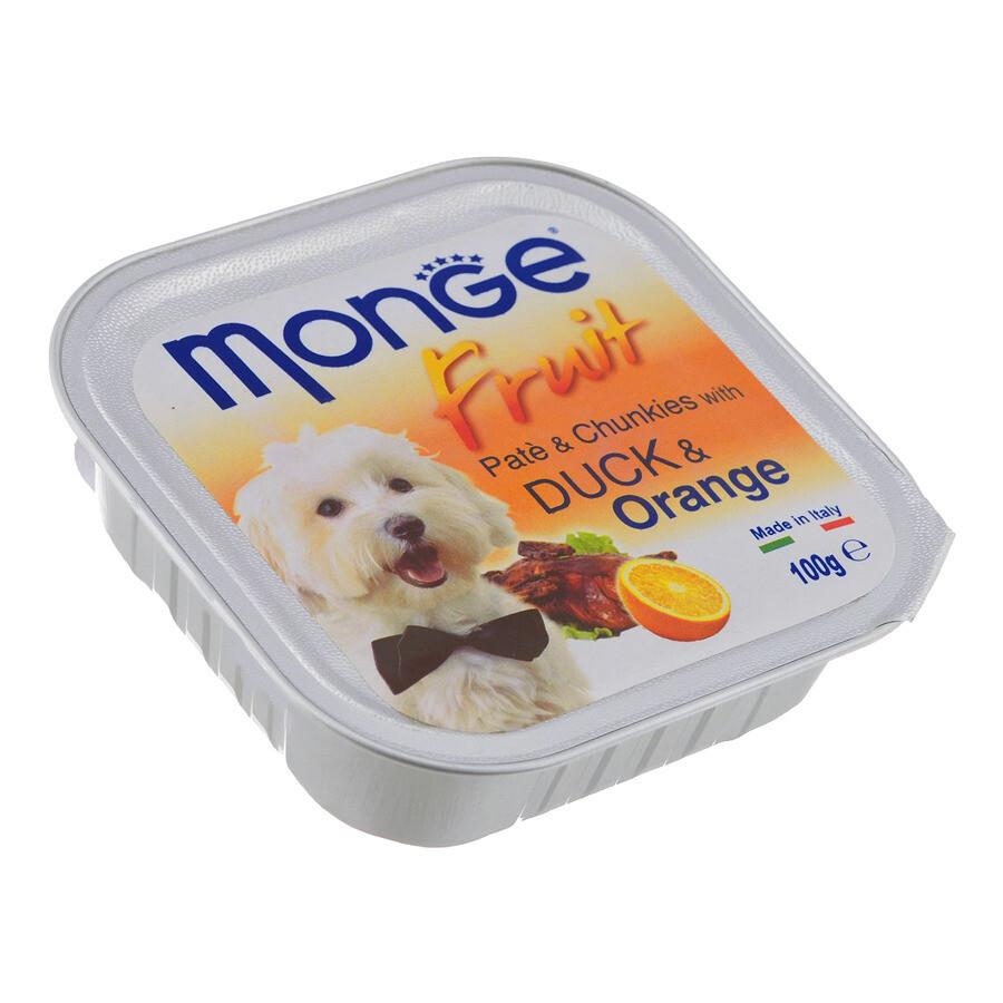 Monge Dog Fruit конс д/собак Утка c апельсином 100 г