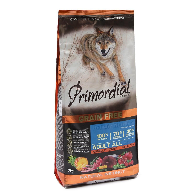 Primordial корм д/собак тунец/ягненок 12 кг