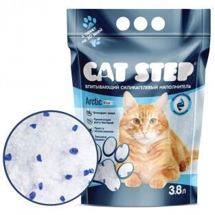 Наполнитель Cat Step Arctic Blue силикагель 3,8 л