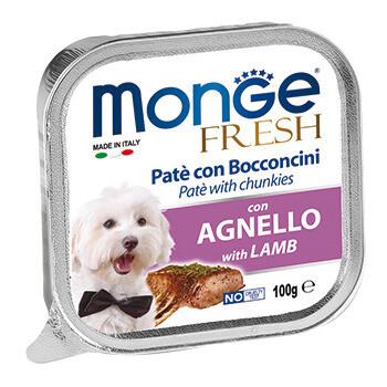 Monge Dog Fresh конс д/собак Ягненок 100 г
