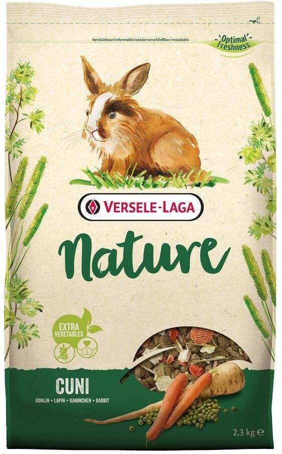 Versele-Laga Nature Cuni д/кроликов 2,3 кг