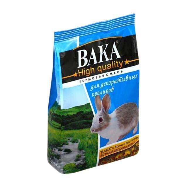 Вака ХК д/декоративных кроликов 1 кг