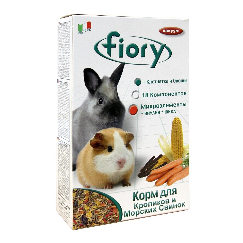 Фиори Conigli e Cavie корм д/морских свинок и кроликов 850 г