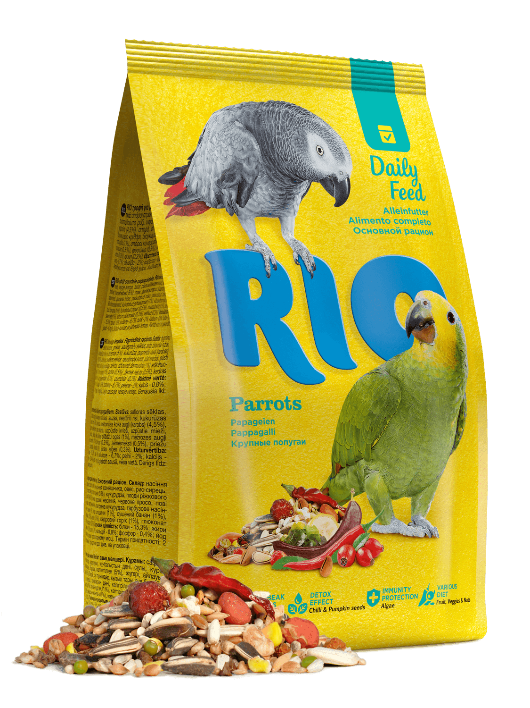 Рио корм д/крупных попугаев 500 г