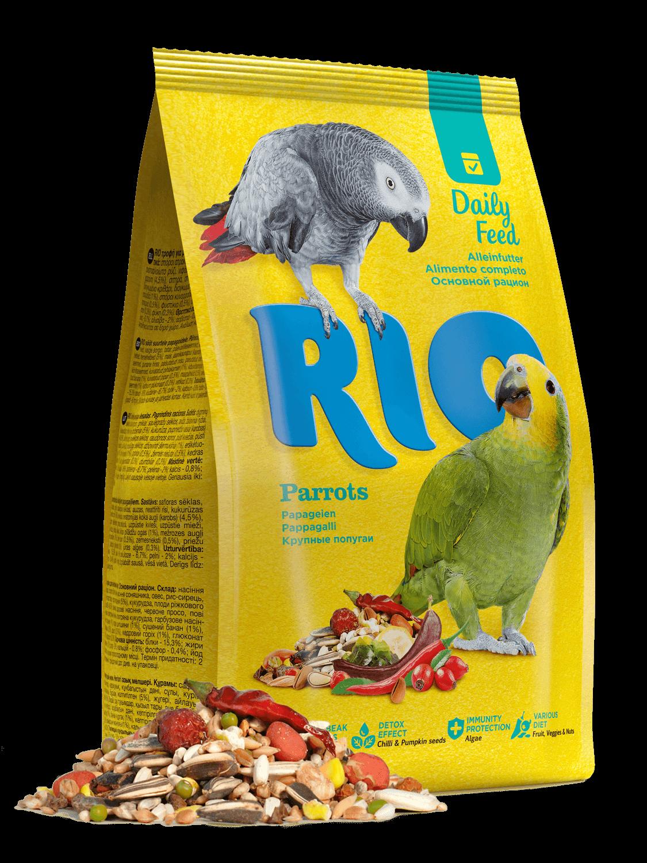 Рио корм д/крупных попугаев 1 кг