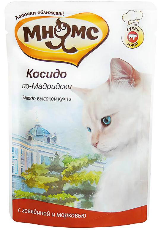 Мнямс пауч д/кошек Косидо по-Мадридски 85 г