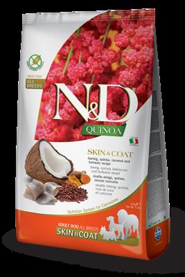 N&D Dog GF Quinoa Skin&Coat д/собак сельдь 2,5 кг