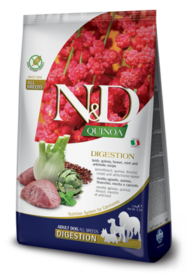N&D Dog GF Quinoa Digestion д/собак ягненок 2,5 кг
