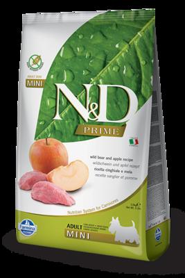 N&D Dog Prime Mini д/собак мелких кабан яблоко 800 г