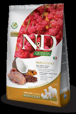 N&D Dog GF Quinoa Skin&Coat д/собак утка 2,5 кг