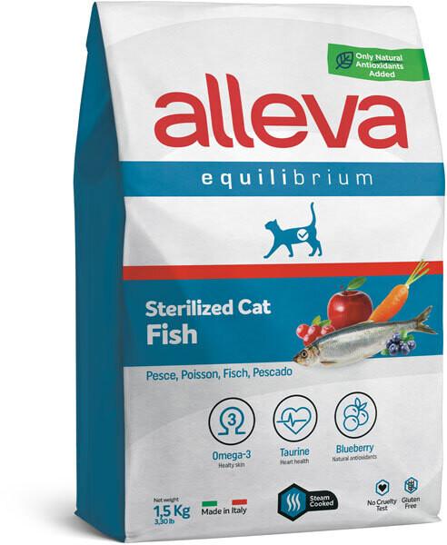 Alleva Equilibrium Cat Sterilized Fish д/стерил кошек 1,5 кг