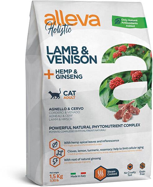 Alleva Holistic Cat Adult Lamb Venison д/кошек 1,5 кг