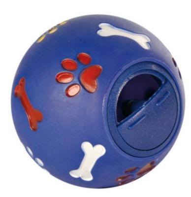 Игр д/собак Мяч д/лакомств 7 см