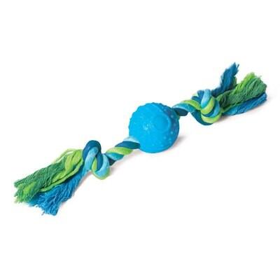 Игр д/собак Мяч с веревкой 50*290 мм