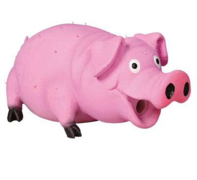 Игр д/собак Свинка со щетиной 21 см латекс