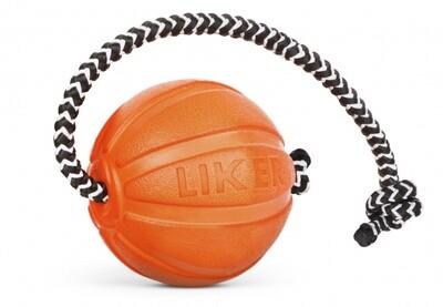 Игр д/собак Мячик Лайкер на веревке 5 см
